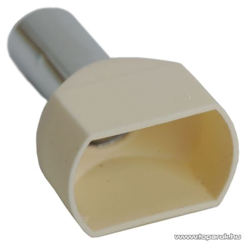 Érvéghüvely, 2 x 16 mm2-es vezetékekhez, fehér, 100 db / csomag (05728)