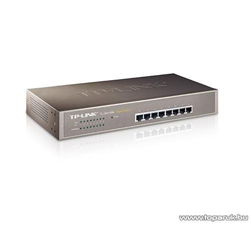 TP-LINK TL-SG1008 8 Portos Fémházas Gigabit Switch metal 10/100/1000 Mbps