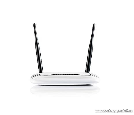TP-LINK TL-WR841N 300 Mbps Wireless (Wifi) Router, Fix antennás