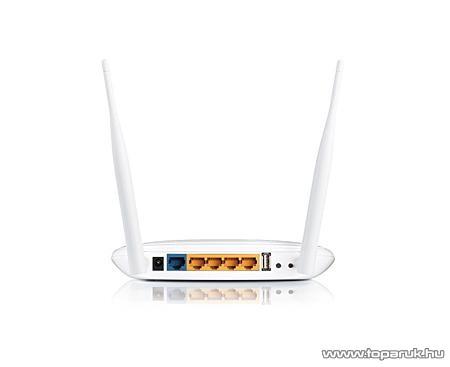 TP-LINK TL-WR842ND 300 Mbps Wireless N Wifi Router 2x2 MIMO Multifunkciós USB 2.0 Porttal