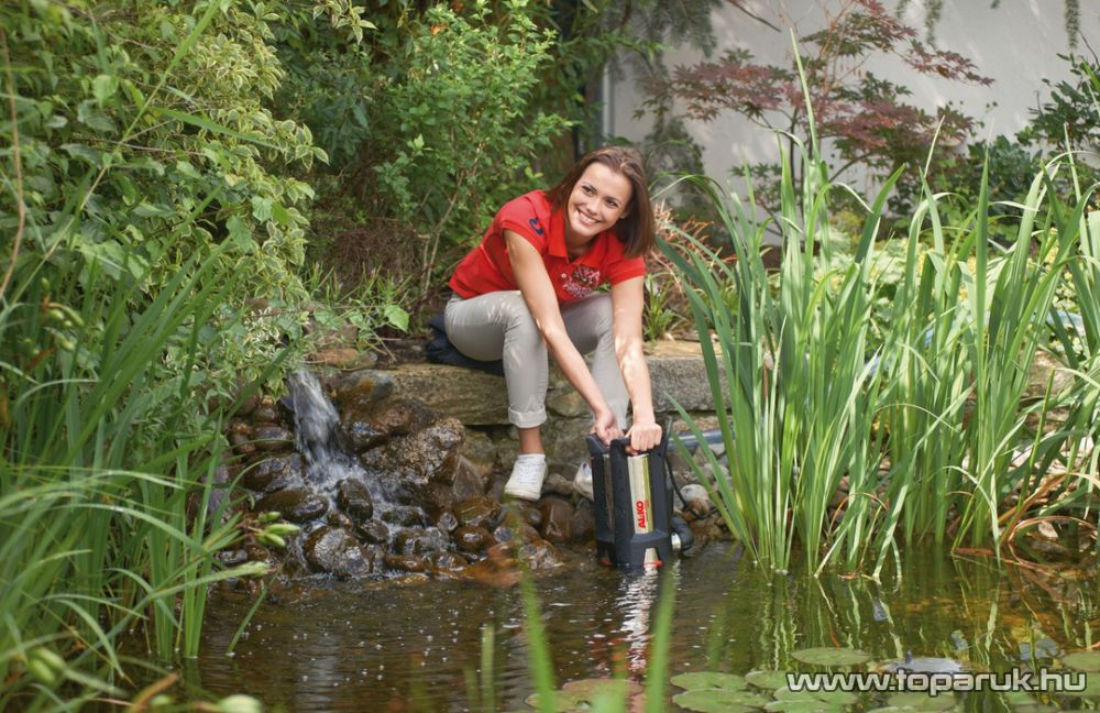 AL-KO Drain 10000 INOX Comfort Úszókapcsolós szennyvíz szivattyú, 750 W (szennyezett vízre)