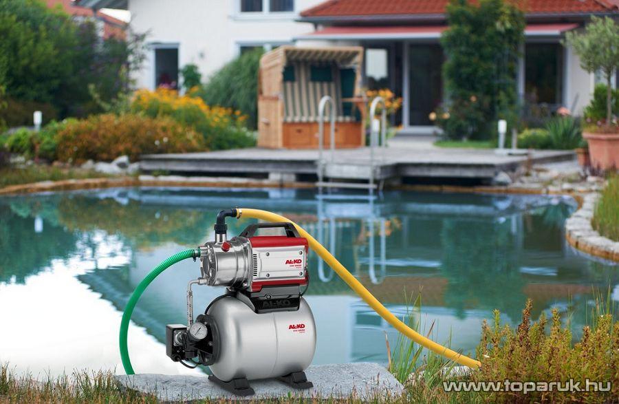AL-KO HW 3500 INOX Classic Házi vízellátó, házi vízmű, kerti szivattyú, 850W (tiszta vízre)