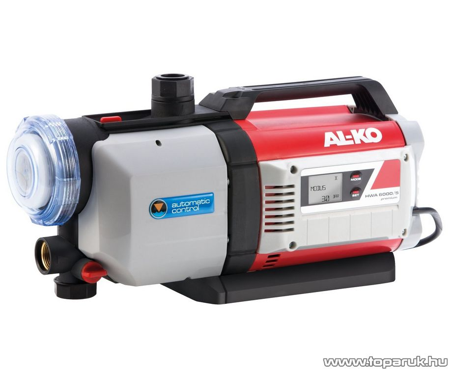 AL-KO HWA 6000/5 Premium Házi vízellátó automata, keri szivattyú, 1400 W (tiszta vízre)