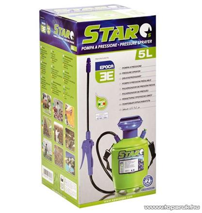 Epoca STAR 5 kézi permetező, 5 L - készlethiány