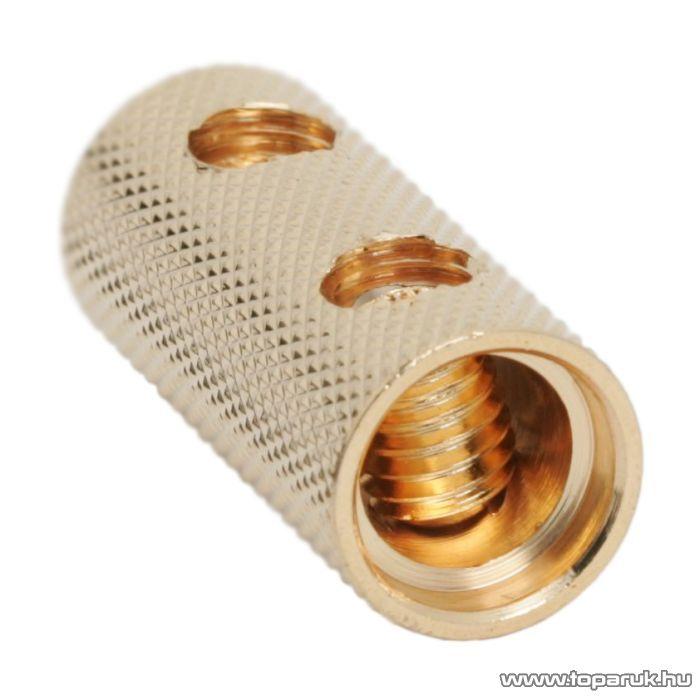 Tápkábel toldó 4GA / 21,1mm2, aranyozott, 2 db / csomag (05693)