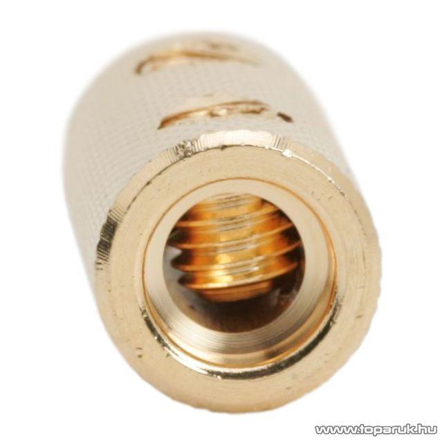 Tápkábel toldó 6GA / 13,3mm2 aranyozott, 2 db / csomag (05692)