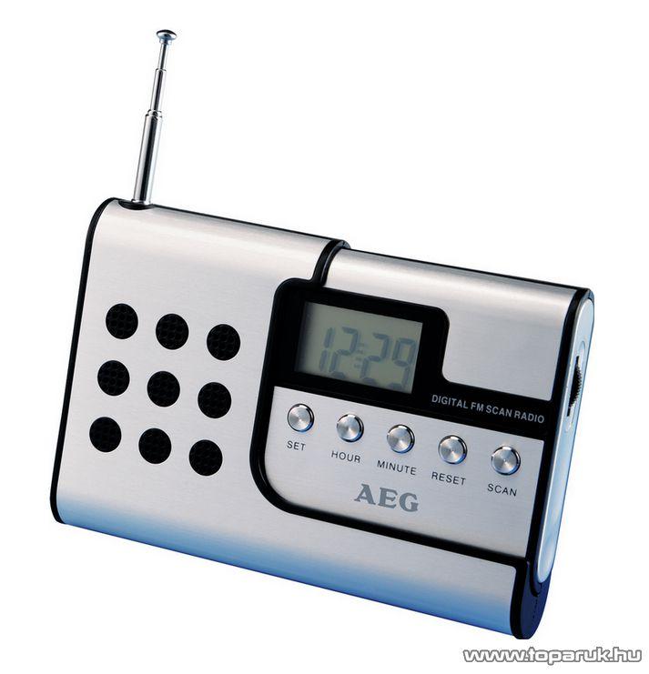 AEG DRR 4107 Digitális úti rádió, zsebrádió - készlethiány
