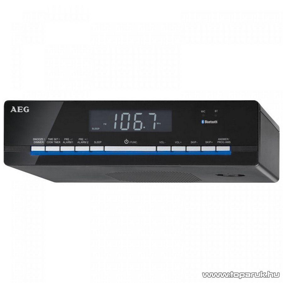 AEG KRC4361 Polc alá vagy falra szerelhető Bluetooth-os konyhai rádió