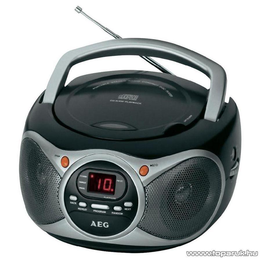 AEG SR4351 Hordozható CD-s rádió - Megszűnt termék: 2016. Február