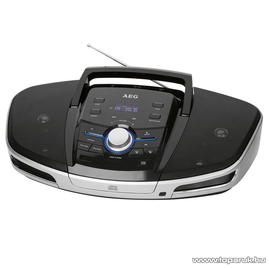 AEG SRP4354 Hordozható bluetooth-os USB/CD/MP3/AUX rádió - készlethiány