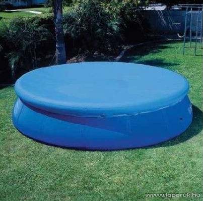 Bestway Pille / Rodosz Medence védőtakaró, takaró fólia 366 cm átmérőjű puhafalú medencéhez - készlethiány