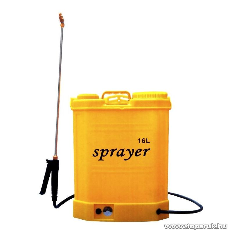 Sprayer 16 literes elektromos, akkumulátoros háti permetező - megszűnt termék: 1014. július