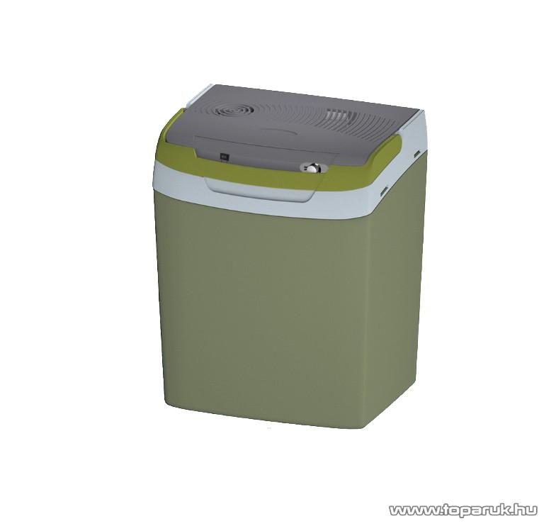 Adventuridge 30L ECO Hálózati / autós elektromos hűtőtáska, szürke-sárga - készlethiány
