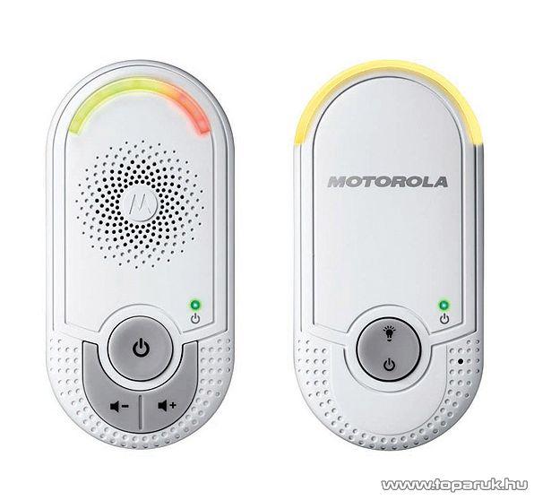 Motorola MBP 8 DECT Babaőrző, 10 csatornás bébiőr, 300 m hatótávolság - készlethiány