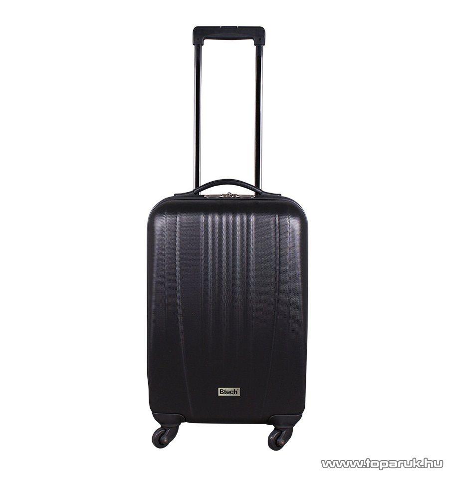 """Btech 4 kerekes állóbőrönd 22""""-os, fekete (8101024)"""