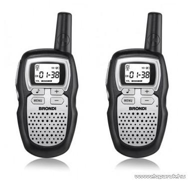 Brondi FX Compact Sport S Walkie-Talkie pár, 5 km hatótávolság - készlethiány