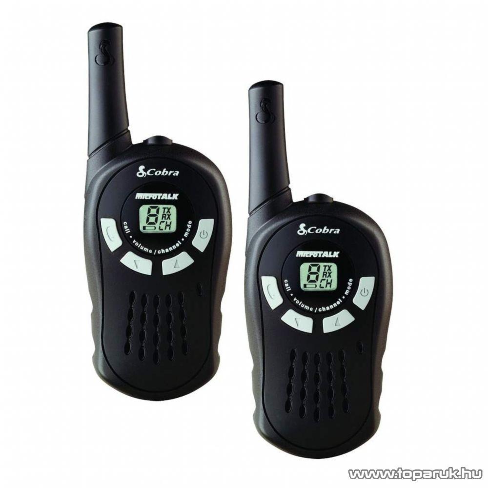 Cobra MT-115 PMR rádió adóvevő, 5 km-es walkie-talkie - megszűnt termék: 2015. április