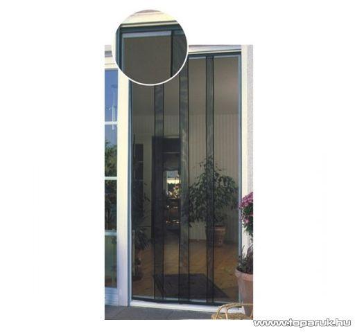 Steck SRSZ 4 Szúnyogháló, rovarháló ajtóra, 210 x 100 cm, fekete (45000014) - készlethiány