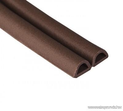 Steck SAD 100B Ablaktömítő, D profil, barna színű, 100 m hosszú (60000015)