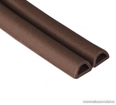 Steck SAD 6B Ablaktömítő, D profil, barna színű, 6 m hosszú (60000007)