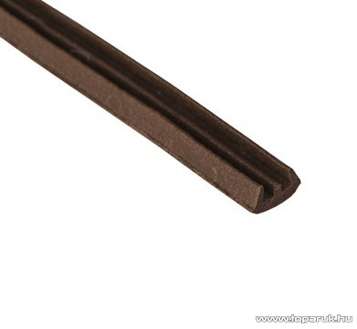 Steck SAE 100B Ablaktömítő, E profil, barna színű, 100 m hosszú (60000019)