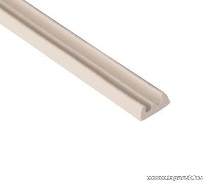 Steck SAE 100F Ablaktömítő, E profil, fehér színű, 100 m hosszú (60000018)