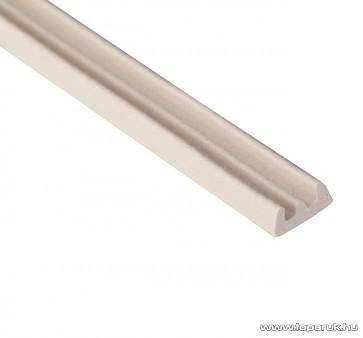 Steck SAE 6F Ablaktömítő, E profil, fehér színű, 6 m hosszú (60000010)