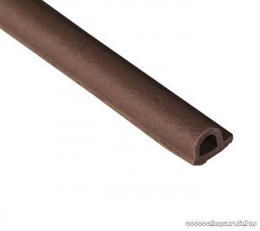Steck SAP 6B Ablaktömítő, P profil, barna színű, 6 m hosszú (60000009)