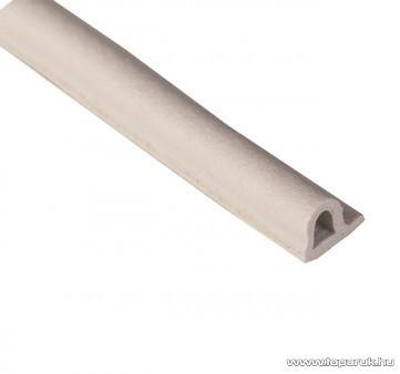 Steck SAP 6F Ablaktömítő, P profil, fehér színű, 6 m hosszú (60000008)
