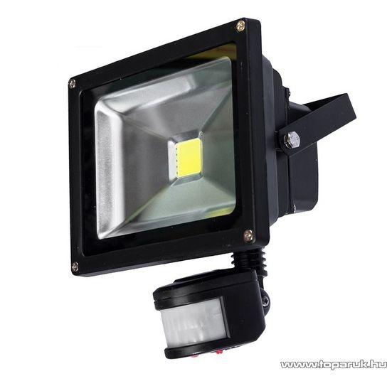 NOCTI Spectrum SLI029001CW-S Mozgásérzékelős kültéri COB LED-es fényvető, 10W, hideg fehér fénnyel (32051032)