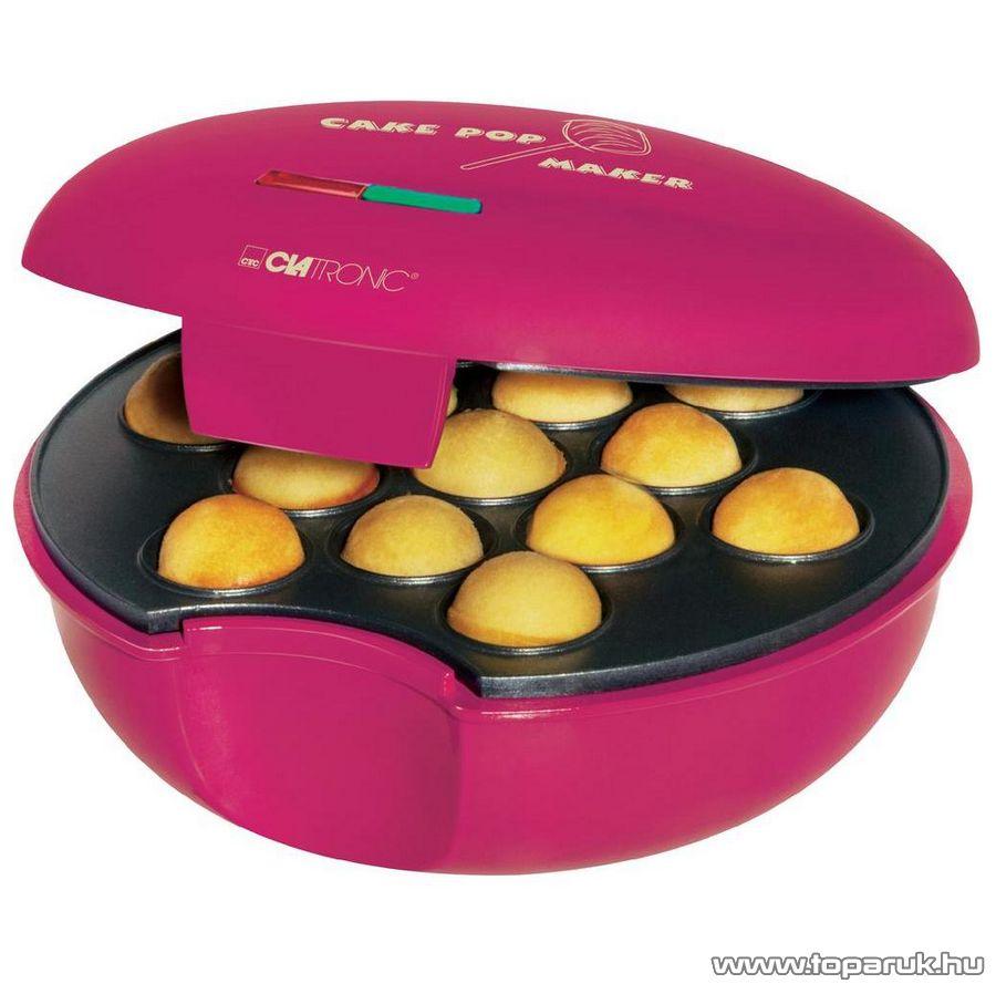 Clatronic CPM3529 PopCake elektromos sütinyalóka készítő, minifánk sütő, fánksütő