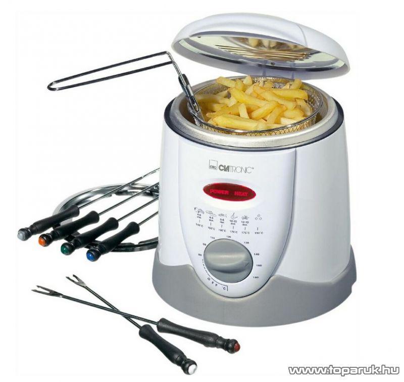 Clatronic FFR2916 fondue sütő, fondue szett