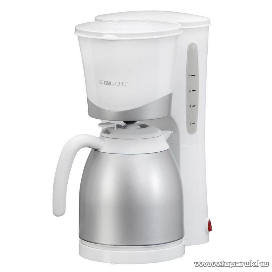 Clatronic KA3327 8-10 csészés termoszos kávéfőző - Megszűnt termék: 2015. November