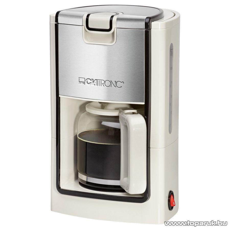 Clatronic KA3558 8-10 csészés kávéfőző, fehér