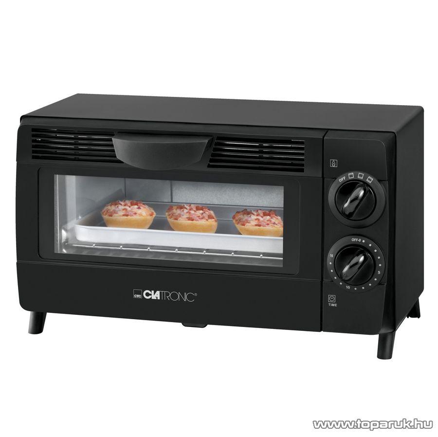 Clatronic MB3463 8 literes minigrill és pizza sütő, mini sütő - Megszűnt termék: 2016. Július