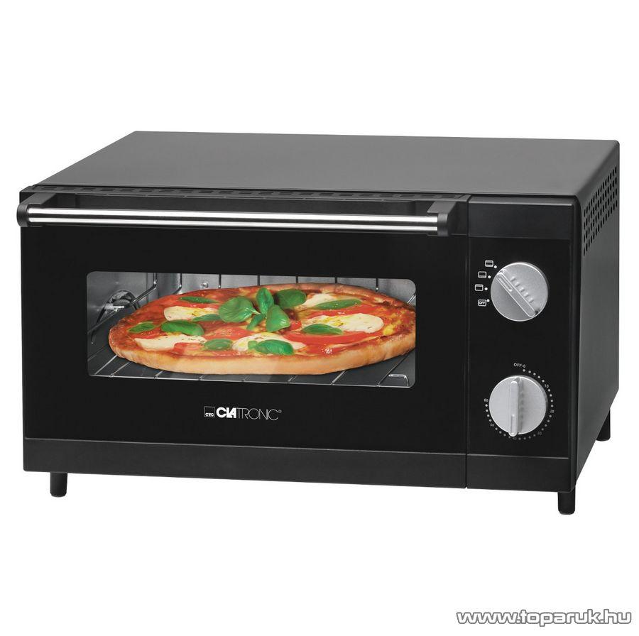 Clatronic MPO3520 12 literes minigrill és pizza sütő, mini sütő