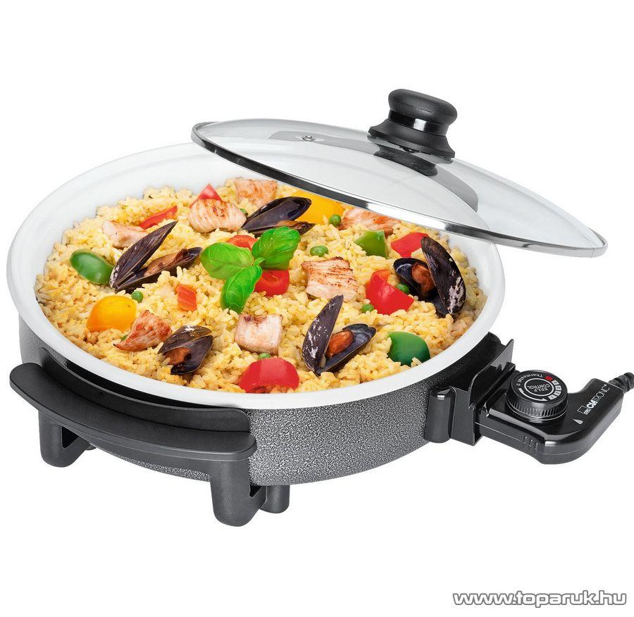 Clatronic PP3570 Kerámia bevonatos parti sütő, Hot Pan - készlethiány