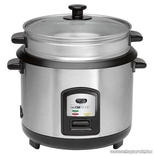 Clatronic RK3567 Rozsdamentes rizsfőző és pároló edény - készlethiány