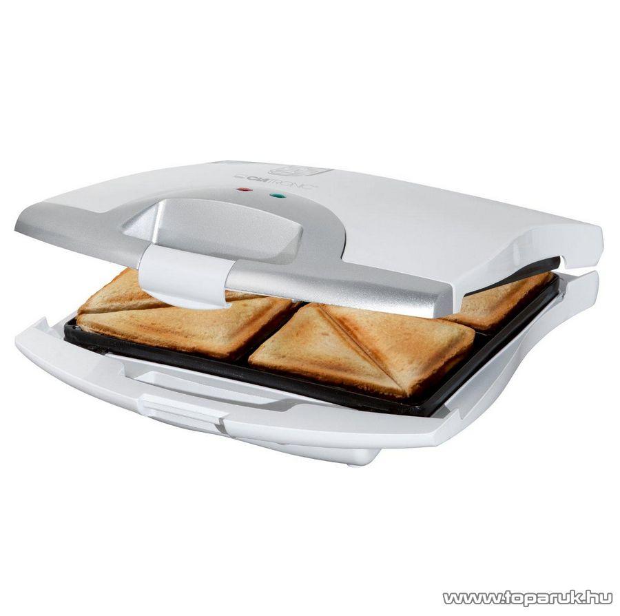Clatronic ST3325 4 szeletes szendvicssütő - Megszűnt termék: 2015. November