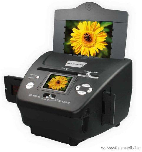 Maginon Tevion MS-7100 Fotó, dia és negatív filmszkenner (ION PICS 2 SD, PC helyettesítő) - készlethiány