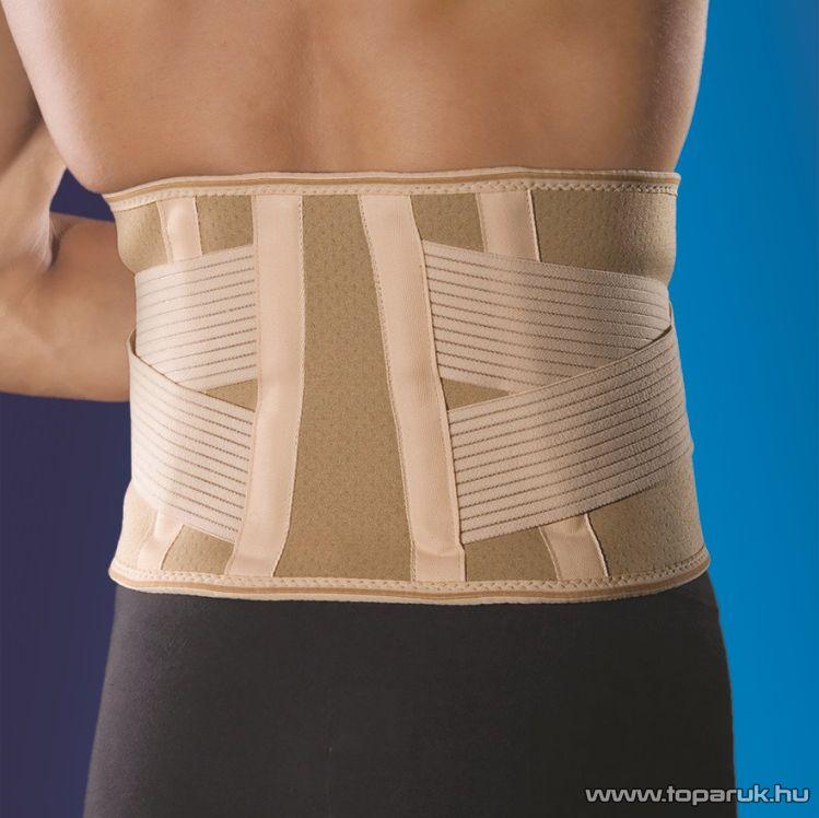 Anatomic Help GYAH3044 Neoprén derékszorító merevítéssel és elasztikus pántrendszerrel, többféle méret