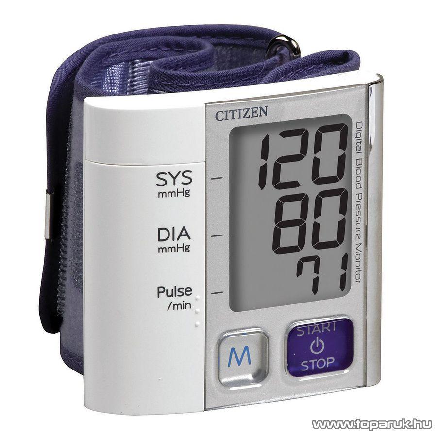 Citizen GYCH-657 Premium Line csuklós vérnyomásmérő