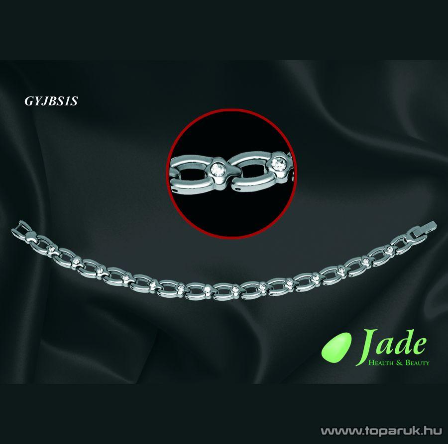 Jade GYJBS2S Brillance Set Orvosi acél, mágneses karkötő