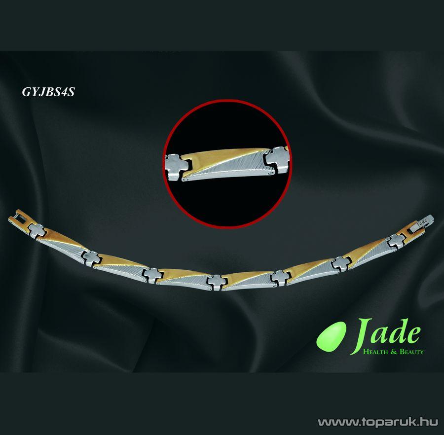 Jade GYJBS4S Brillance Set 4 Orvosi acél, mágneses karkötő, többféle méret - készlethiány