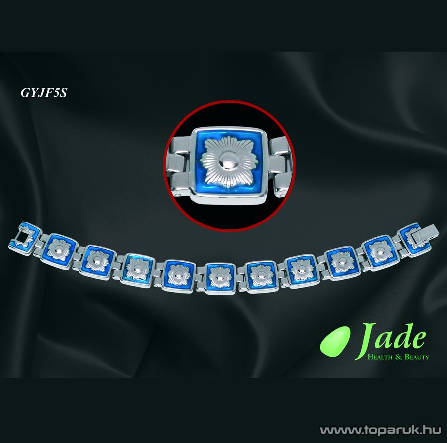 Jade GYJF5S Fashion 5 Orvosi acél, mágneses karkötő, többféle méret