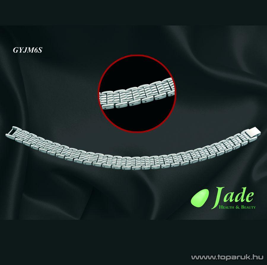 Jade GYJM6S Mens 6 Orvosi acél, mágneses karkötő, többféle méret - Megszűnt termék: 2015. Szeptember