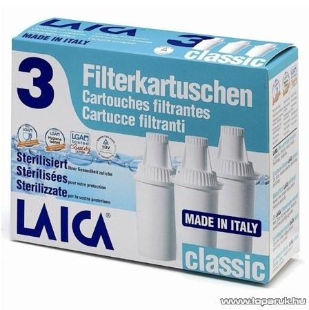Laica Classic szűrőbetét vízszűrő kancsóhoz, 3 db-os