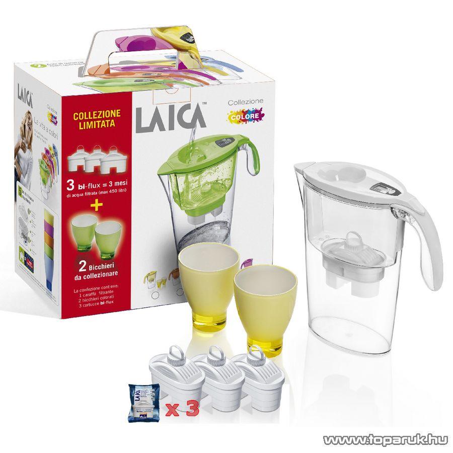 Laica Stream Line 2,25 literes vízszűrős kancsó ajándék szett
