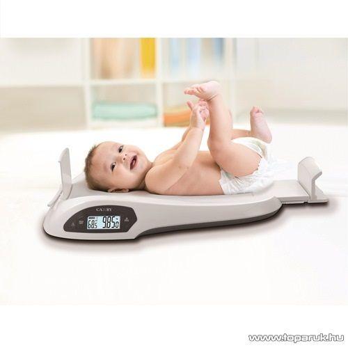 Vivamax GYVBM1 Digitális babamérleg beépített hosszúságmérővel