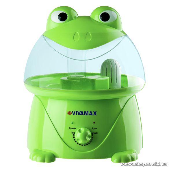 Vivamax GYVH19 Ultrahangos párásító készülék gyerekeknek, békás - készlethiány